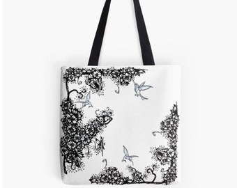 """Carrying bag Shopper ArtBag """"Kolibri"""" as a chic gift for Mother's Day"""