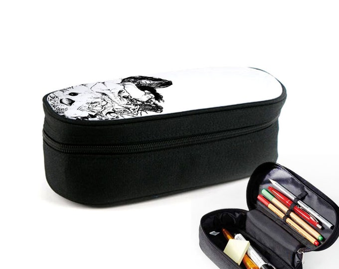 Symbiosis case with zipper as junk folder, make-up case or eyeglass case Christmas gift