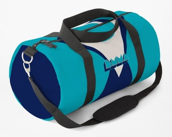 NAME IT - in multiple colors (Personalizable with your name) | Retro Graphic Design Popper Style 80s | hatgirlBAGS sports bag