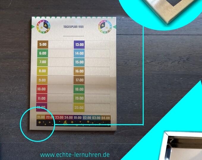 Tagesplanung mit Kind - Tagesplaner für Tagesstruktur und Routinen