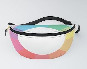 hatgirlBAGS belt bag minimalistic rainbow circle colorful Christmas gift