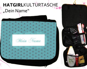 """My Name"""" Culture Bag in Different Color... as a practical gift for Mother's Day"""