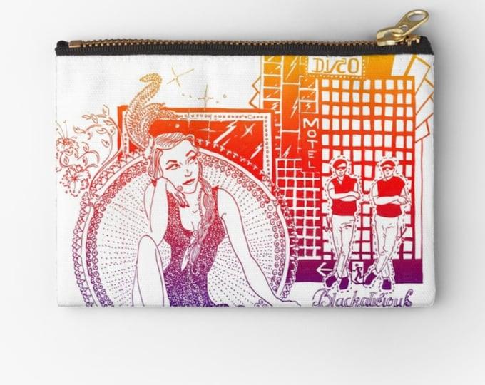 Case Blackalicious Disco - Studio54 © hatgirl make-up bag Sloppy pencil case Ramschmappe School beginning