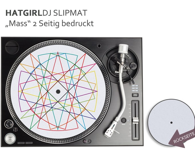 "DJ Slipmat ""Geometric Mess"" Designs"