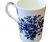 Dr. Wall Worcester Porcelain Tankard circa 1770