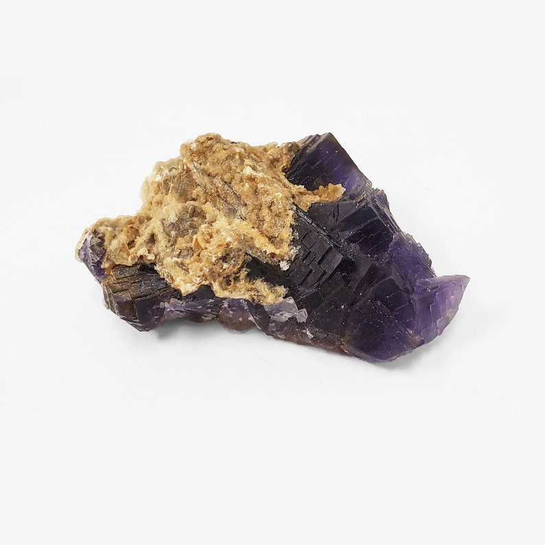 Mineral Specimen Collectible /_RCR223 Fluorite Crystal Gemstone Natural Fluorite Crystal Raw Fluorite Crystal