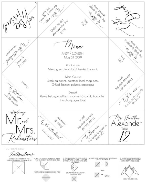 It's just an image of Fortune Teller Printable pertaining to kids
