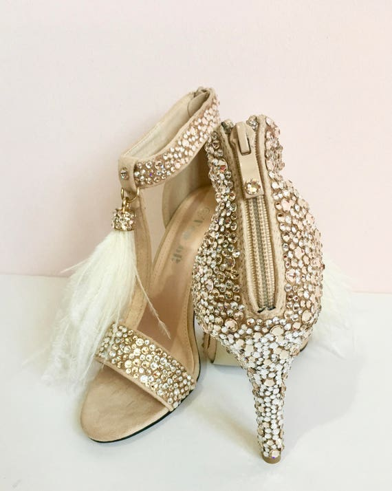 Bridal Shoes / Wedding Shoes / Nude
