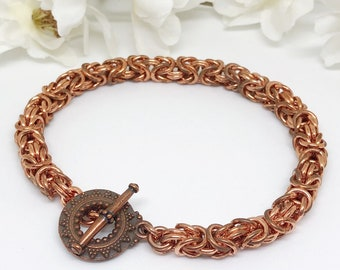 Chainmaille Jewelry Etsy