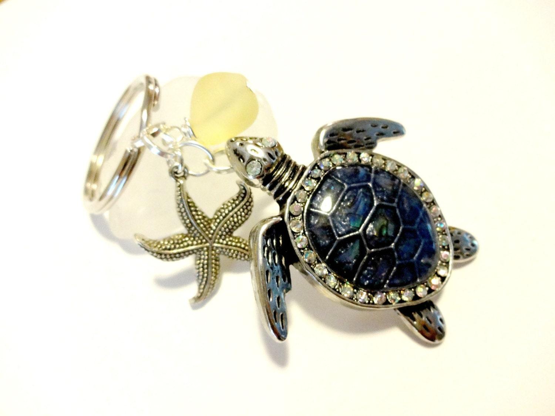 Porte cl tortue de mer accessoires de voiture tortue de mer etsy - Voiture tortue ...