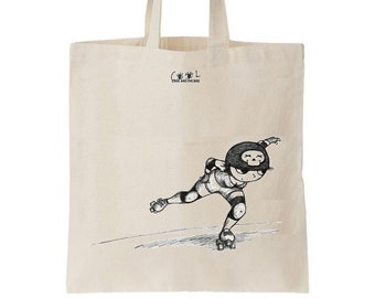 Tote bag Derby Girl