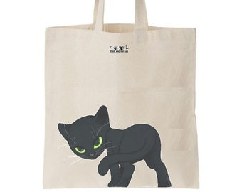 Tote bag Le Chat Noir