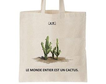 Tote bag Cactus