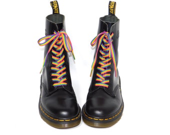 famous brand sale usa online compare price Rainbow dr martens | Etsy
