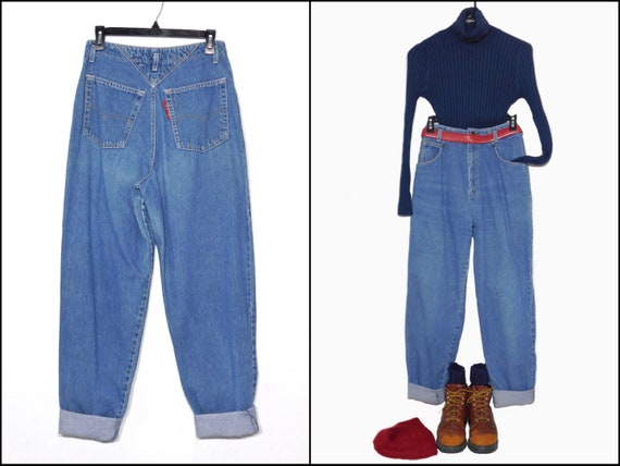 2018 sneakers fashion styles cute cheap Ultra Rare 80s Levis Super High Waisted Denim Jeans~ Red Tag~ Cotton~Size  Us Women's 8 to 11-See Dimensions in Item Details