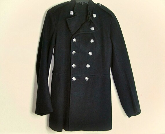 Size US Men Medium X to US Size London Coat 1948 ~ Womens small Wool Small NFS qX8wWzp