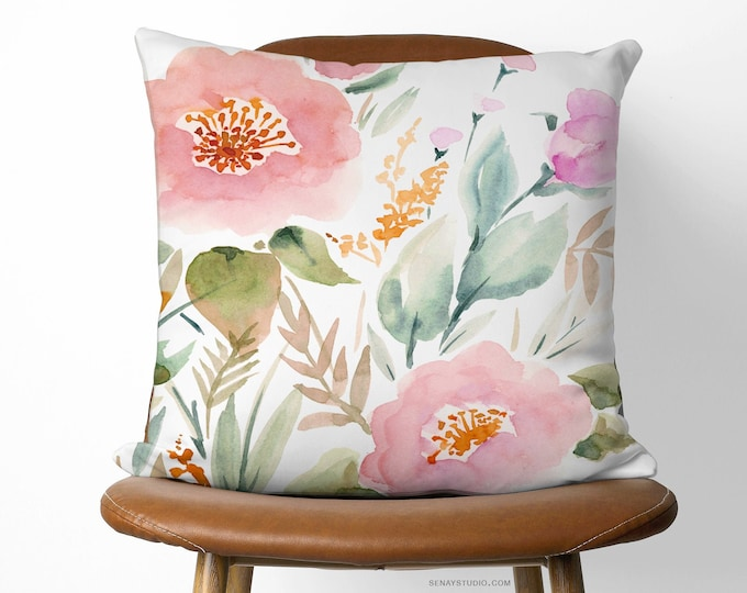 Featured listing image: Beautiful Keira Garden Pillow | Available With or Without Pillow Insert | Decorative Pillow Designed and Handmade with Love