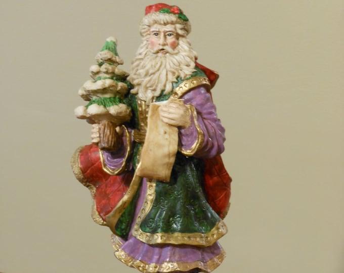 Sankyo Santa Music Box Figurine
