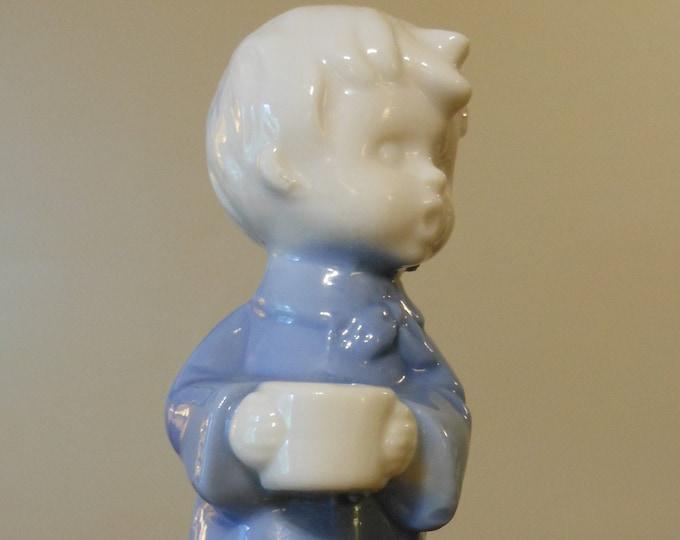 Vintage Fine Quality Lego Candle Holder Figurine