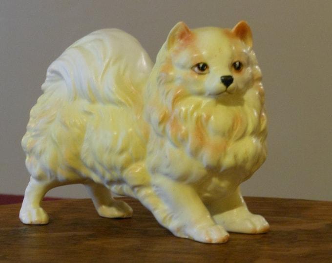 Vintage Ucago Ceramics Pomeranian