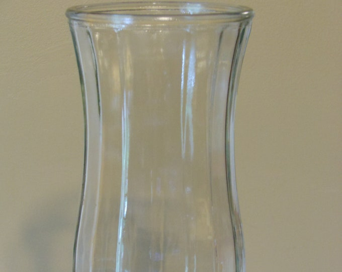 Vintage GGG (Garcia Group Glass) Ribbed Vase
