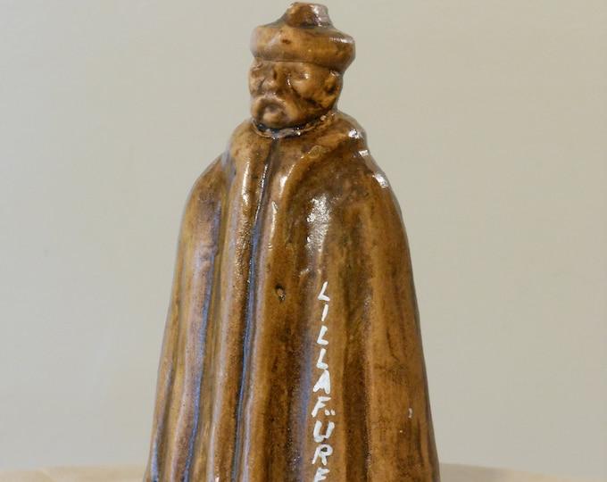 Rare Vintage Lillafured, Hungary Domed Figurine
