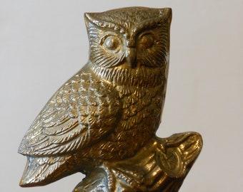 A Brass Owl