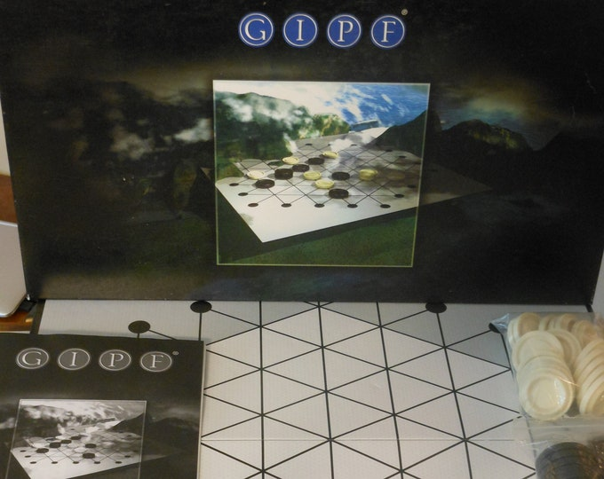 GIPF: The First Game in the GIPF Project