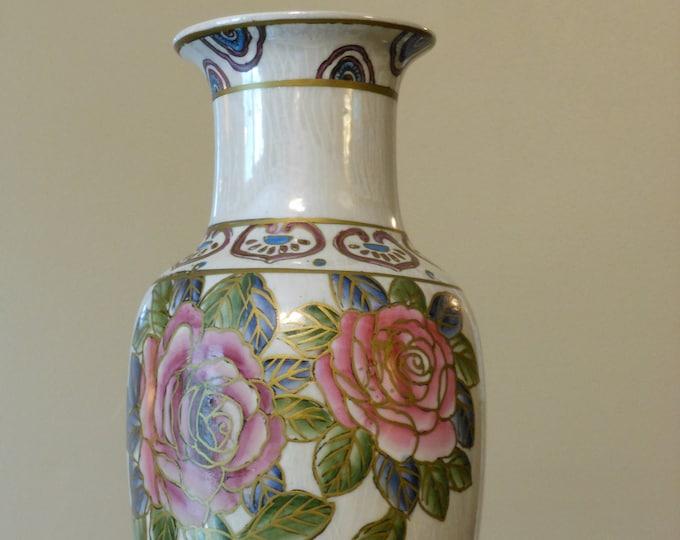 Attractive Vintage Floral Vase
