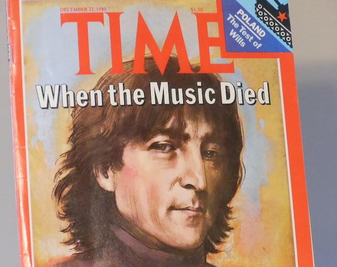 Time Magazine 1980 John Lennon Cover Issue