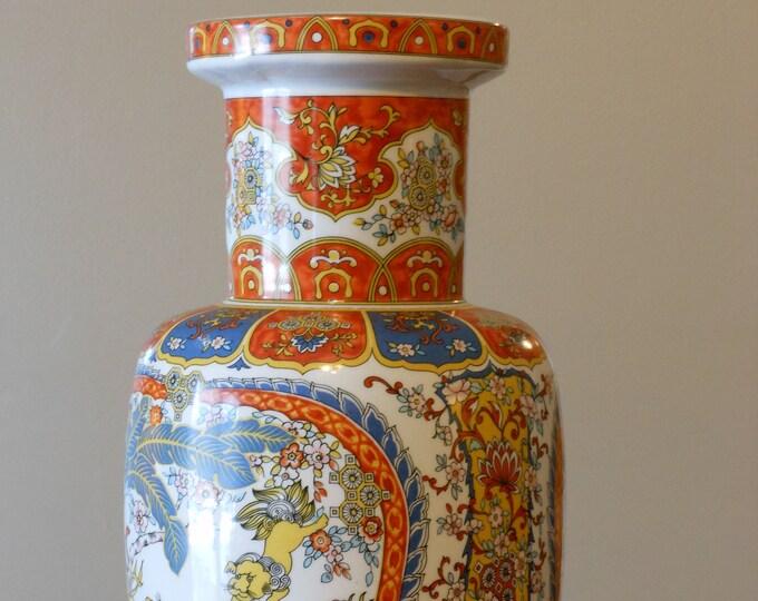 Ardalt Chineserie Foo Dog Italian Vase