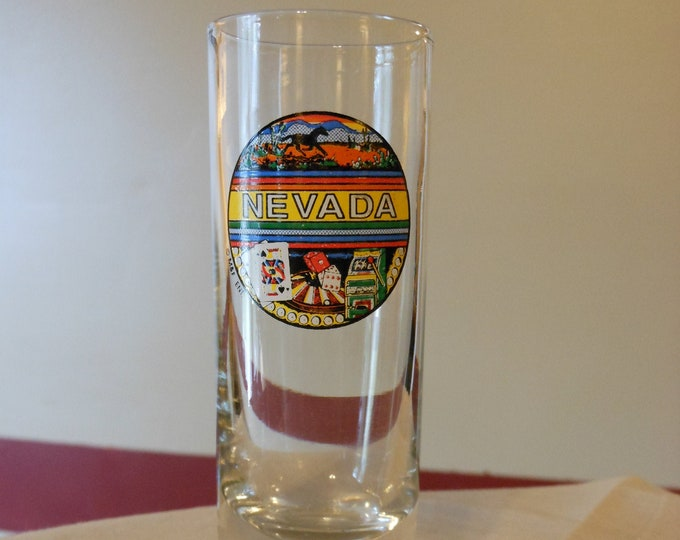 State of Nevada Shot Glass