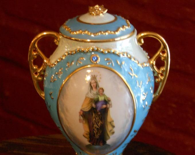 "Ardleigh-Elliott Music Box ""Our Lady of Mount Carmel"". Plays Amazing Grace"