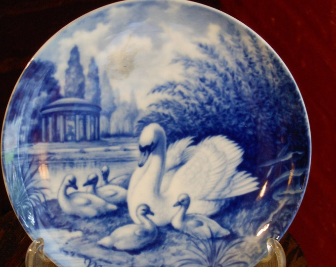 Kaiser Porcelain Vintage West German Mother's Day Collector's Plate (1976)
