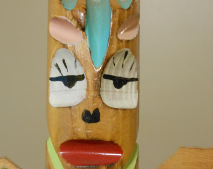 Vintage Echo Point American Indian Made Totem