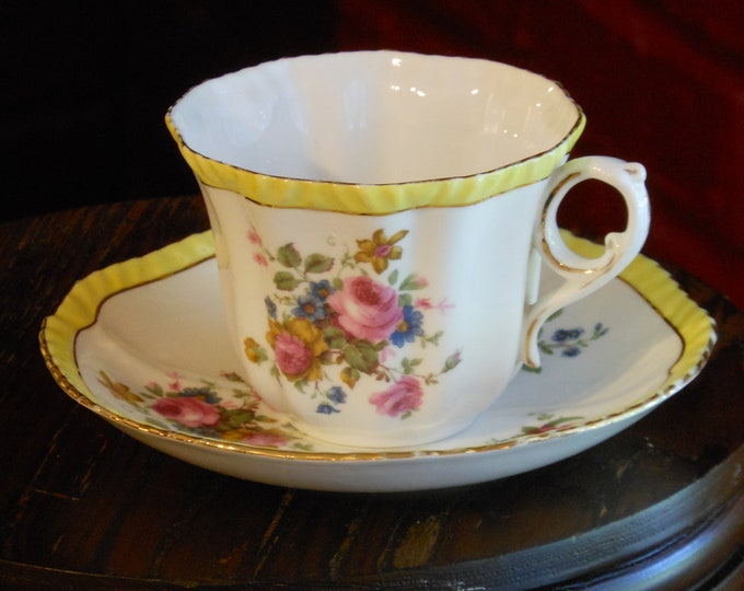 Royal Grafton Vintage Bone China Tea Cup & Saucer