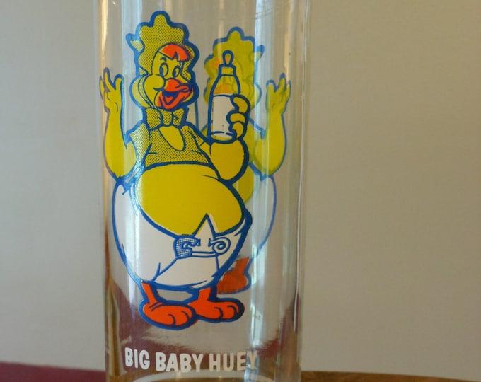 Vintage Big Baby Huey Harvey Cartoons Glass