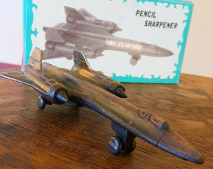 U.S. Air Force Die Cast Metal Jet Pencil Sharpener