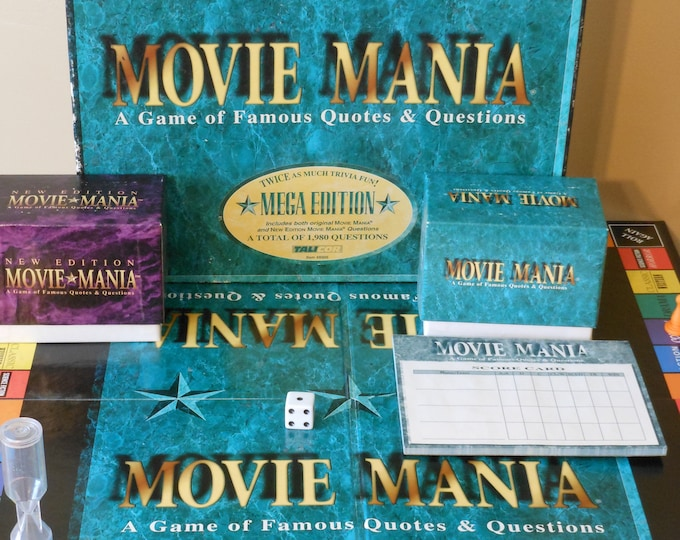 Movie Mania: A Game of Famous Quotes & Questions