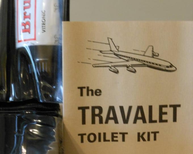 New Vintage Travalet Toilet Kit