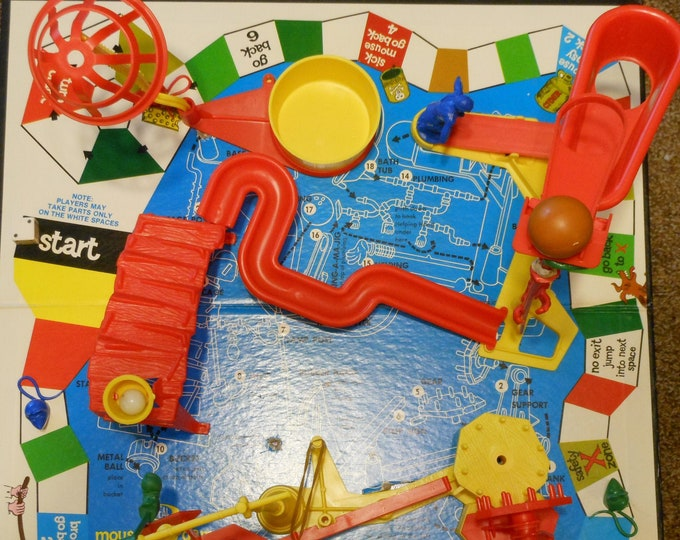 Ideal's Mouse Trap Game (1975)