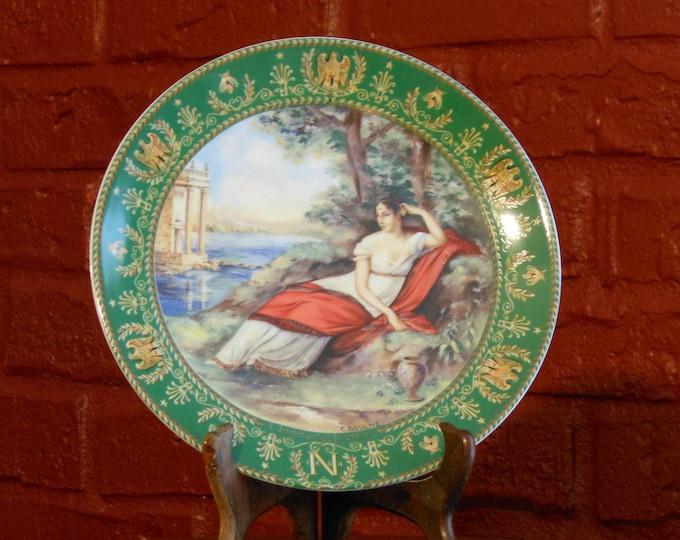 Six Porcelain Limoges Plates in the series Josephine et Napoleon de Boulme