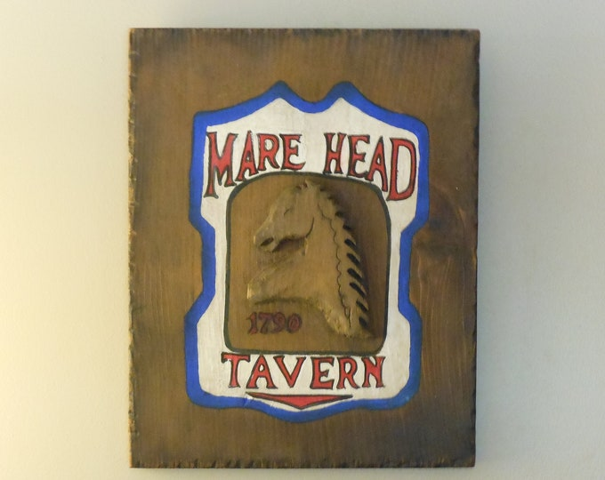 Handmade Rustic Tavern Sign