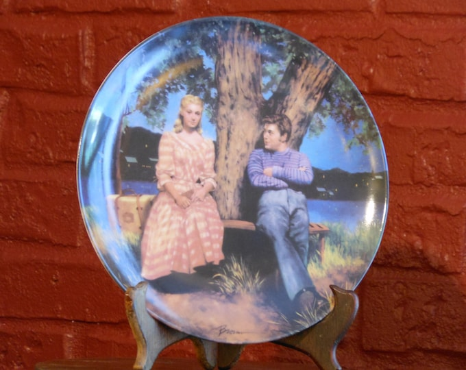 """Carousel: """"If I Loved You"""" Plate, 1987"""