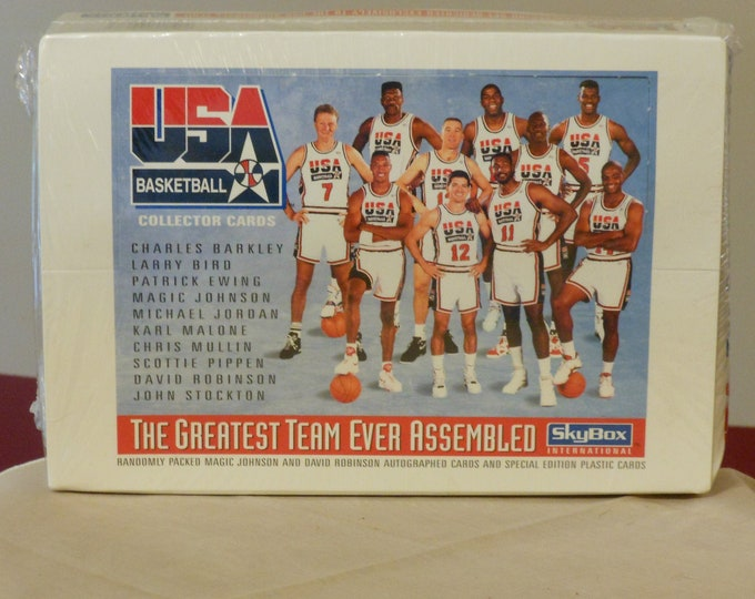 Factory Sealed USA Basketball. SkyBox: The Greatest Team Ever Assembled