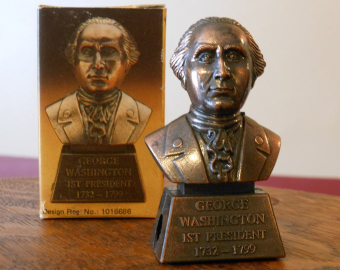 Famous President Pencil Sharpener: George Washington