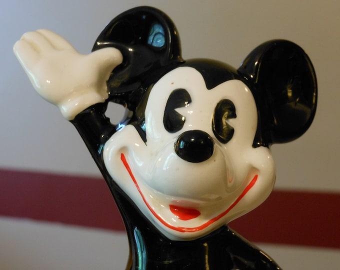 Mickey Mouse Ceramic Figurine