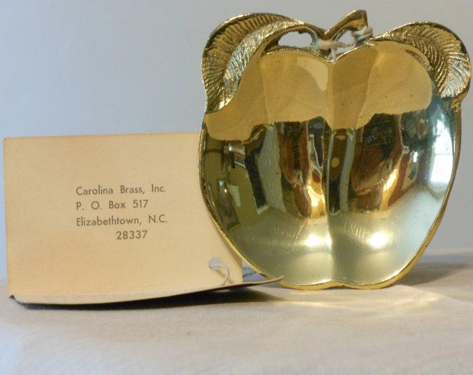 Carolina Brass Inc. Apple Trinket Tray