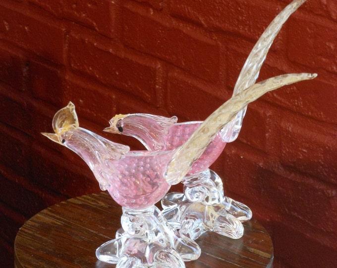 Genuine Murano Glass Roadrunners