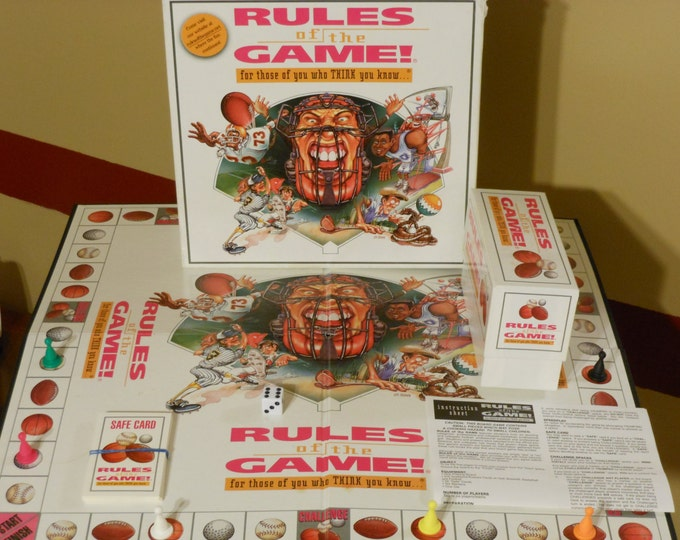 Rules of the Game (Board Game)